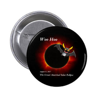 2017 Solar Eclipse, Vampire Edition Pinback Button