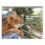 2017 Somali Cat featuring Summer Samba Calendar
