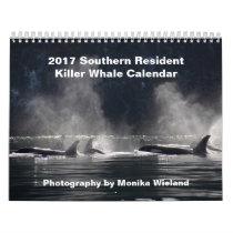 2017 Southern Resident Killer Whale Calendar