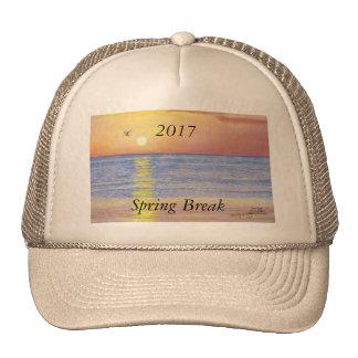 2017 SPRING BREAK SUNSET SEAGULL TRUCKER HAT