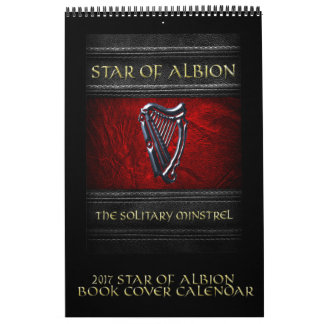 2017 Star of Albion Book Cover Calendar