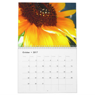 2017 Sunflower Collection Calendar