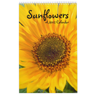 2017 Sunflowers Collection Calendar
