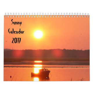 2017 Sunny Calendar