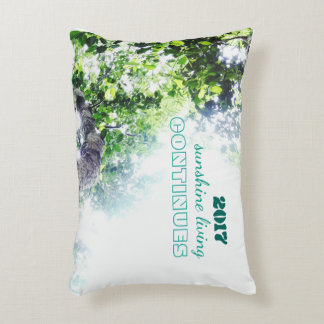 2017-sunshine living continues accent pillow