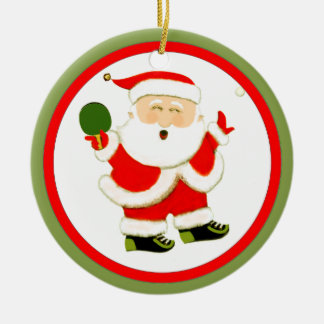 2017 Table Tennis Collectible Ceramic Ornament