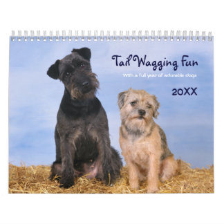 2017 Tail Wagging Fun with Dogs Calendar