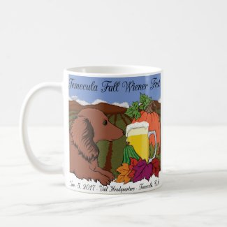 2017 Temecula Fall Wiener Fest mugs & steins