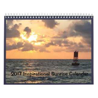 2017 Texas Coast Inspriational Sunrise Calendar