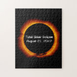 """2017 Total Solar Eclipse Jigsaw Puzzle<br><div class=""""desc"""">The first total solar eclipse crossing the United States since 1991 is coming on August 21,  2017. Stake out your place in the path of totality and celebrate this major astronomical event with an eclipse viewing party.</div>"""