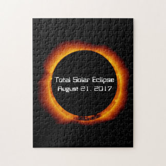 2017 Total Solar Eclipse Jigsaw Puzzle