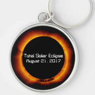 2017 Total Solar Eclipse Keychain