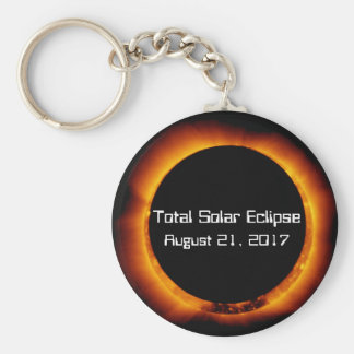 2017 Total Solar Eclipse Keychain
