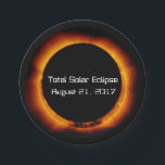 "2017 Total Solar Eclipse Paper Plate<br><div class=""desc"">The first total solar eclipse crossing the United States since 1991 is coming on August 21,  2017. Stake out your place in the path of totality and celebrate this major astronomical event with an eclipse viewing party.</div>"