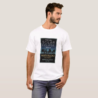 2017 Total Solar Eclipse - Waterloo, IL T-Shirt