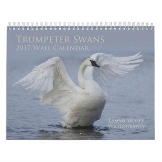 2017 Trumpeter Swan Wall Calendar