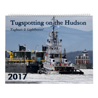2017 Tugboats & Lighthouses Calendar