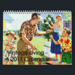 "2017 Vintage Living Calendar<br><div class=""desc"">One of my most popular retro calendars is back for a whole new year! The 2017 Vintage Living calendar contains twelve months&#39; worth of beautiful vintage advertising illustrations and photographs depicting the ideal American life of the mid-20th century (1940s, 1950s, 1960s). This gorgeous calendar is a must-have for any fan...</div>"