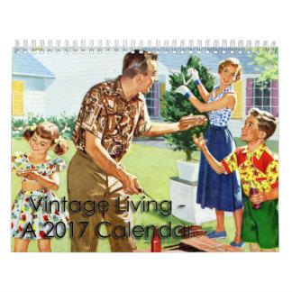 2017 Vintage Living Calendar
