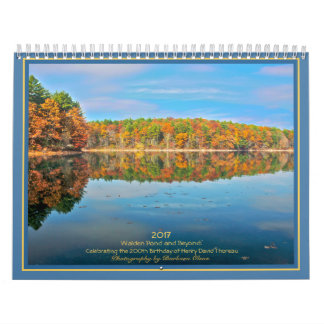2017 Walden Pond and Beyond: Calendar