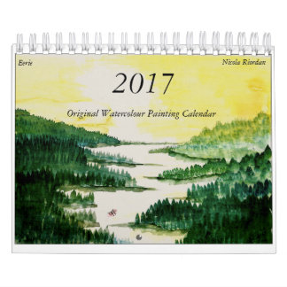 2017 Watercolour Calendar