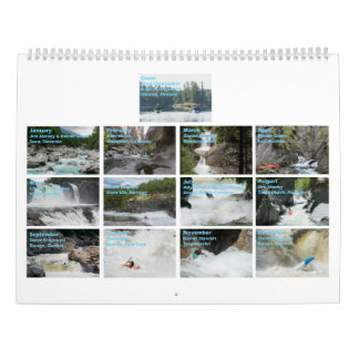 2017 Whitewater Calendar