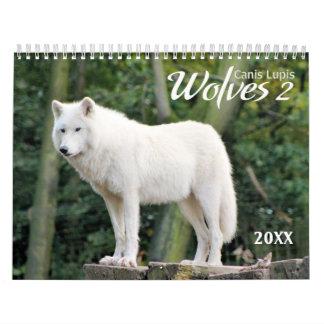 2017 Wolves 2 Wildlife Photography Calendar
