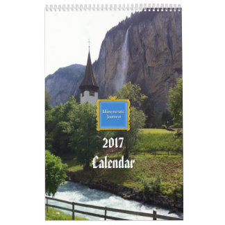 2017 World Travel Calendar