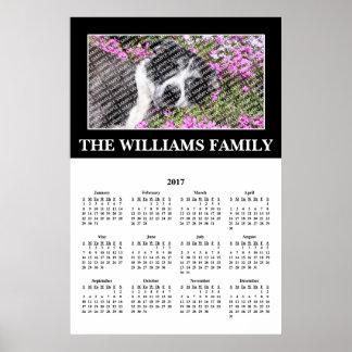 2017 Your Favorite Photo Custom Calendar Poster