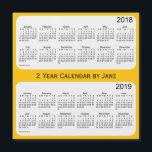 "2018-2019 Gold 2 Year Calendar by Janz<br><div class=""desc"">Custom Calendar Designs by Janz &#169; 2008-2017 Jan Fitzgerald. All rights reserved. Graphic Design,  Artwork,  &amp; Photography by Jan &amp; Michael Fitzgerald.</div>"