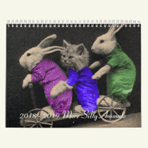 2018 - 2019 More Silly Animals Calendar