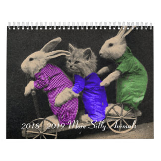 2018 - 2019 More Silly Animals Calendar