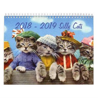 2018 - 2019 Silly Cats Calendar