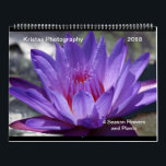 """2018 4 season Flowers and Plants Calendar<br><div class=""""desc"""">A beautiful collection of pictures for the next calender year 2018. Some of these images were taken this year.  Enjoy this beautiful calender will look great on any wall!</div>"""