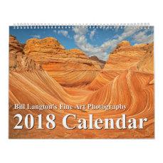2018 Annual Nature Photography Calendar
