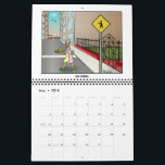 """2018 Arrmac&#39;s World Calendar<br><div class=""""desc"""">Arrmac&#39;s World is the delightfully perceptive imagination of a young old fogey named Arrmac living far,  far away in a Central Coast California city that has no coastline. This 2018 calendar is a joyful gift for those who enjoy the unexpected.</div>"""