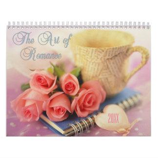 2018 Art of Romance Floral Calendar