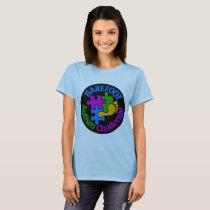 2018 Barefoot Autism Challenge T-Shirt