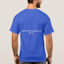2018 Barefoot Autism Challenge T-Shirt