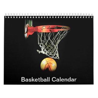 2018 Basketball Calendar