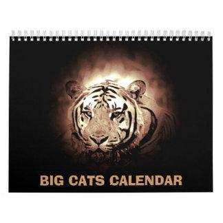 2018 Big Cats Calendar