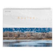2018 Boulder Colorado Calendar