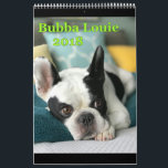 """2018 Bubba Louie Calendar<br><div class=""""desc"""">12 months of super handsome Bubba Louie close ups,  dreamy Bubba eyes and the occasional monkey #bubbalouie #bubbaheardareindeer #frenchie #frenchbulldog #bubbaheard</div>"""