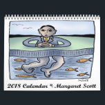 "2018 Calendar by Margaret Scott<br><div class=""desc"">This 2018 Calendar features original color artwork by Margaret Scott.</div>"