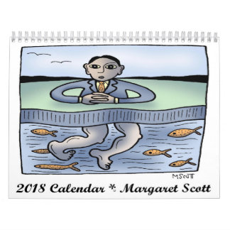 2018 Calendar by Margaret Scott