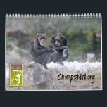 """2018 Calendar for Chimpanzee Sanctuary Northwest<br><div class=""""desc"""">Gorgeous photos of the seven chimpanzees at Chimpanzee Sanctuary Northwest to enjoy all year! Major holidays and of course the chimpanzees&#39; birthdays are featured dates.</div>"""