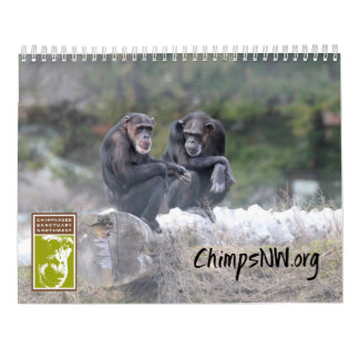 2018 Calendar for Chimpanzee Sanctuary Northwest