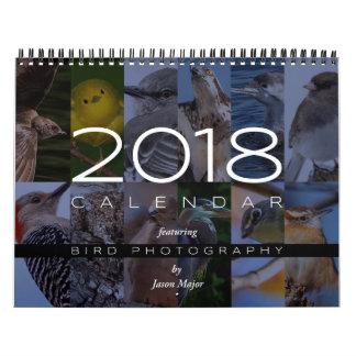 2018 Calendar of Bird Photography