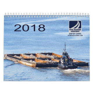 2018 Calendar of NYS Marine Highway Tugs & Barges