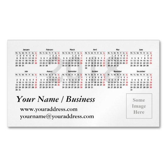 Business card calendar template vaydileforic business card calendar template friedricerecipe Choice Image
